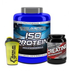 PACK ISO PROTEIN + CREATINA + SHAKER
